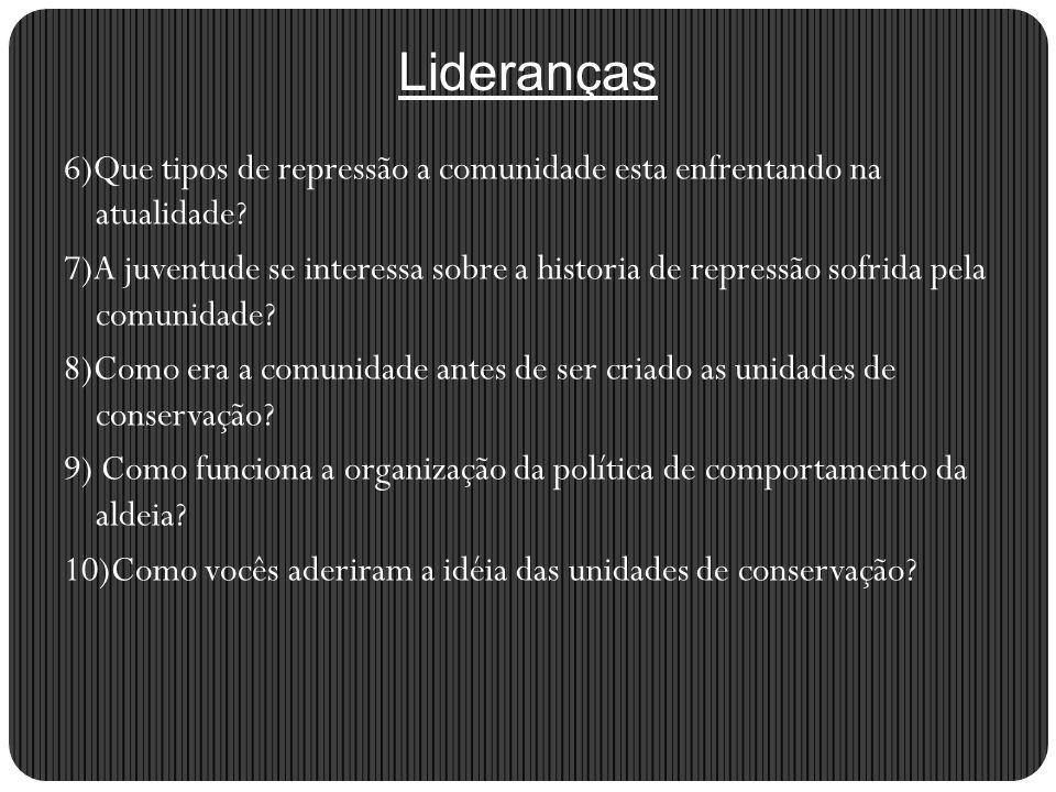 Publico alvo:Idosos 1)Você se lembra quando o Brasil era governado pelos militares.