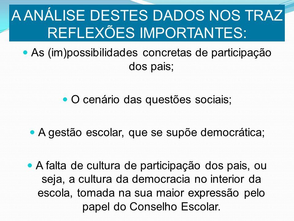 A INSTRUMENTALIZAÇÃO DA COMUNIDADE ESCOLAR É VIA PARA SE CONSOLIDAR UMA CULTURA DEMOCRÁTICA NO ÂMBITO DA ESCOLA
