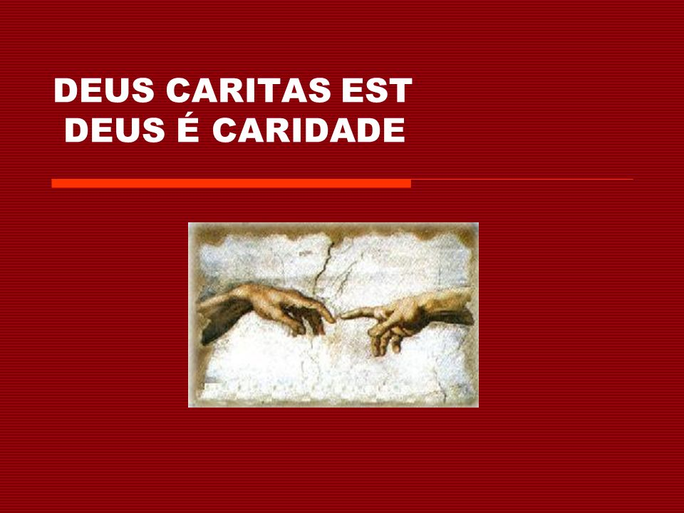 Jesus Cristo – o amor encarnado de Deus (12-15) Jesus é o amor de Deus em carne e sangue.