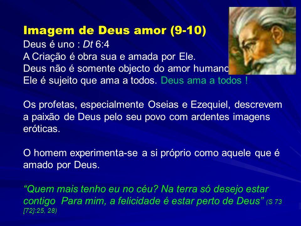 Uma imagem (do amor ascendente e descendente) A escada de Jacob (cf. Gen 28:12; Jo 1:51) Dois modelos São Paulo, que foi arrebatado ao alto até aos ma