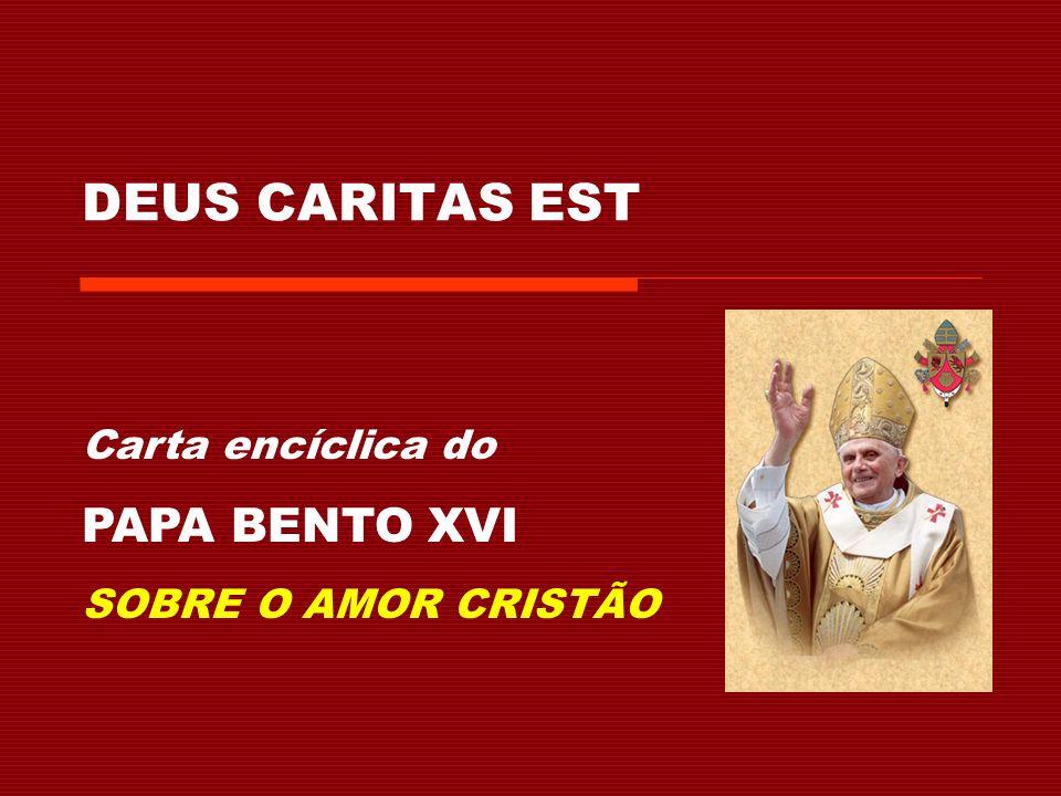 Nesta secção, o Papa Bento reflecte sobre os conceitos de eros, ágape, e logos, e a sua relação com os ensinamentos de Jesus.
