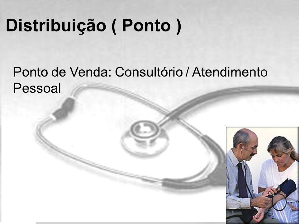 Ponto de Venda: Consultório / Atendimento Pessoal Distribuição ( Ponto )