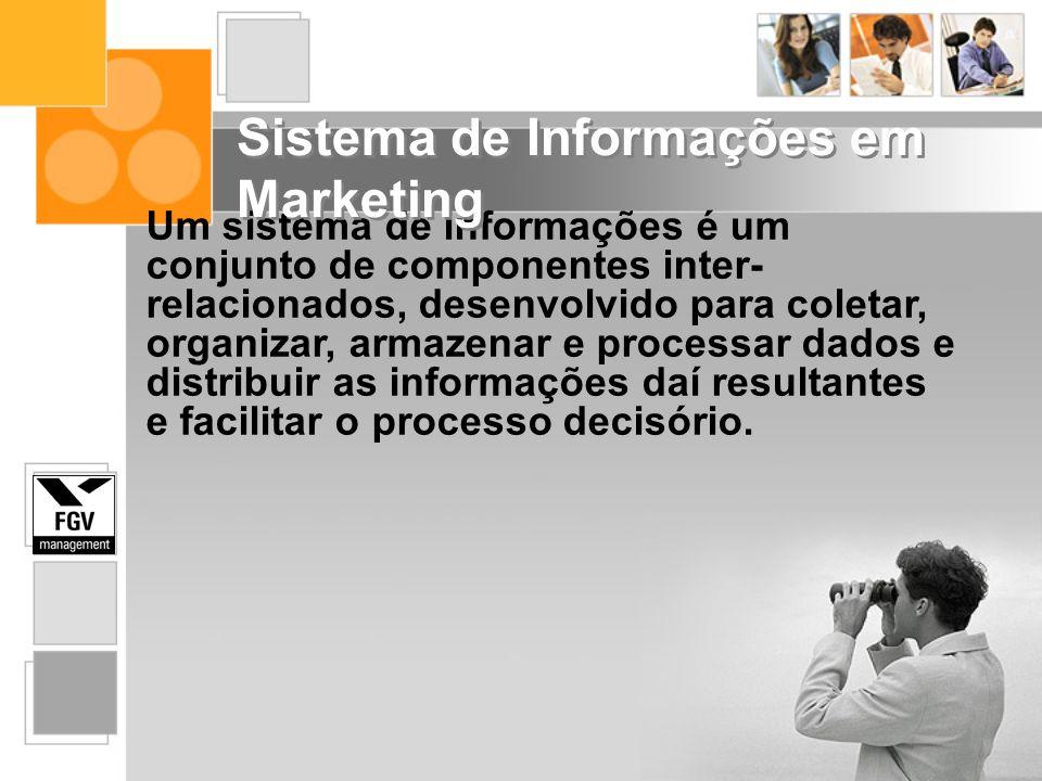 Um sistema de informações é um conjunto de componentes inter- relacionados, desenvolvido para coletar, organizar, armazenar e processar dados e distri