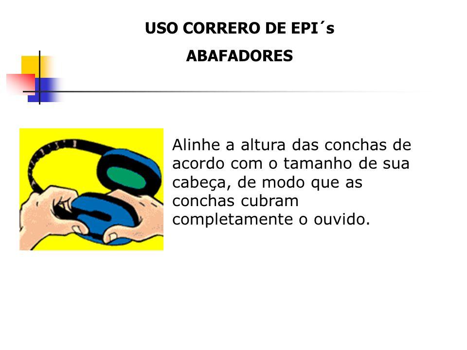 USO CORRERO DE EPI´s ABAFADORES