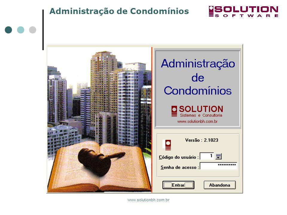 Administração de Condomínios www.solutionbh.com.br
