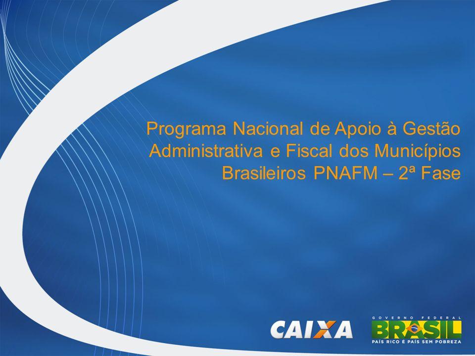 Principais Agentes Município Ministério da Fazenda UCP CAIXA BID