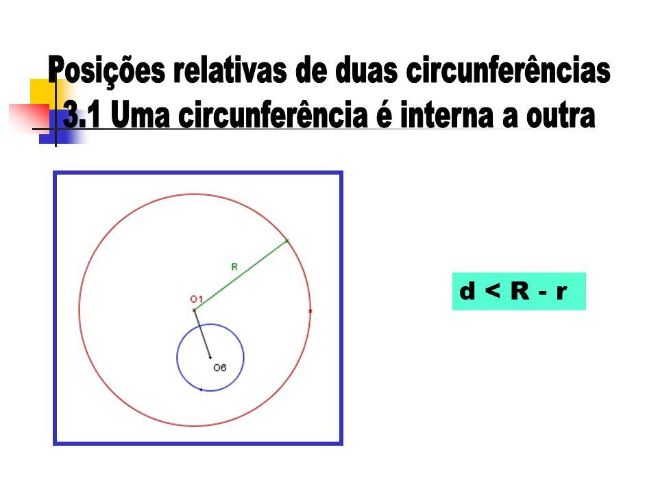 d < R - r