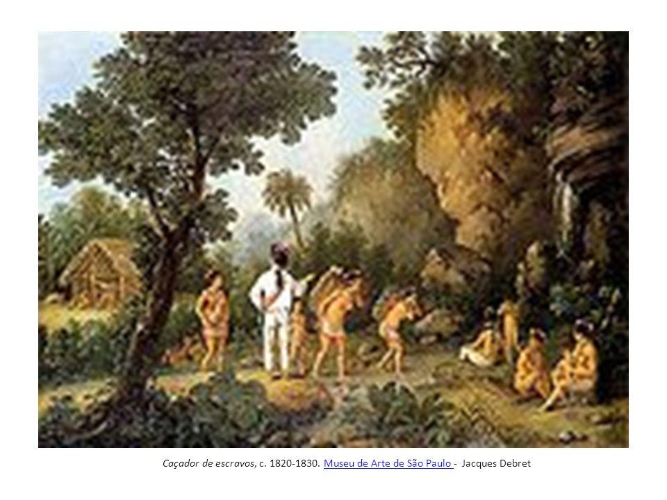 Negros serradores de tábuas, de Jean Baptiste Debret.