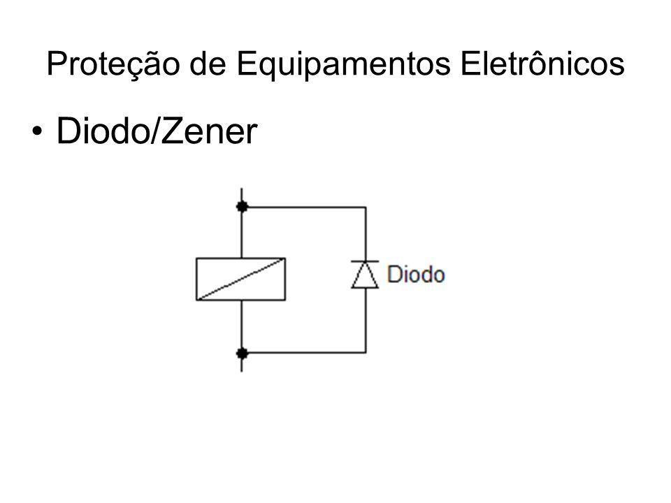Diodo/Zener Proteção de Equipamentos Eletrônicos