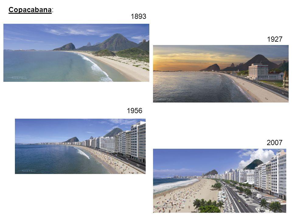 1893 1927 1956 2007 Copacabana:
