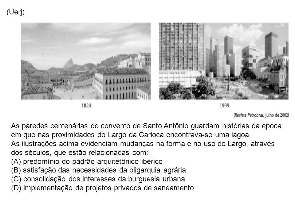 (Uerj) As paredes centenárias do convento de Santo Antônio guardam histórias da época em que nas proximidades do Largo da Carioca encontrava-se uma la