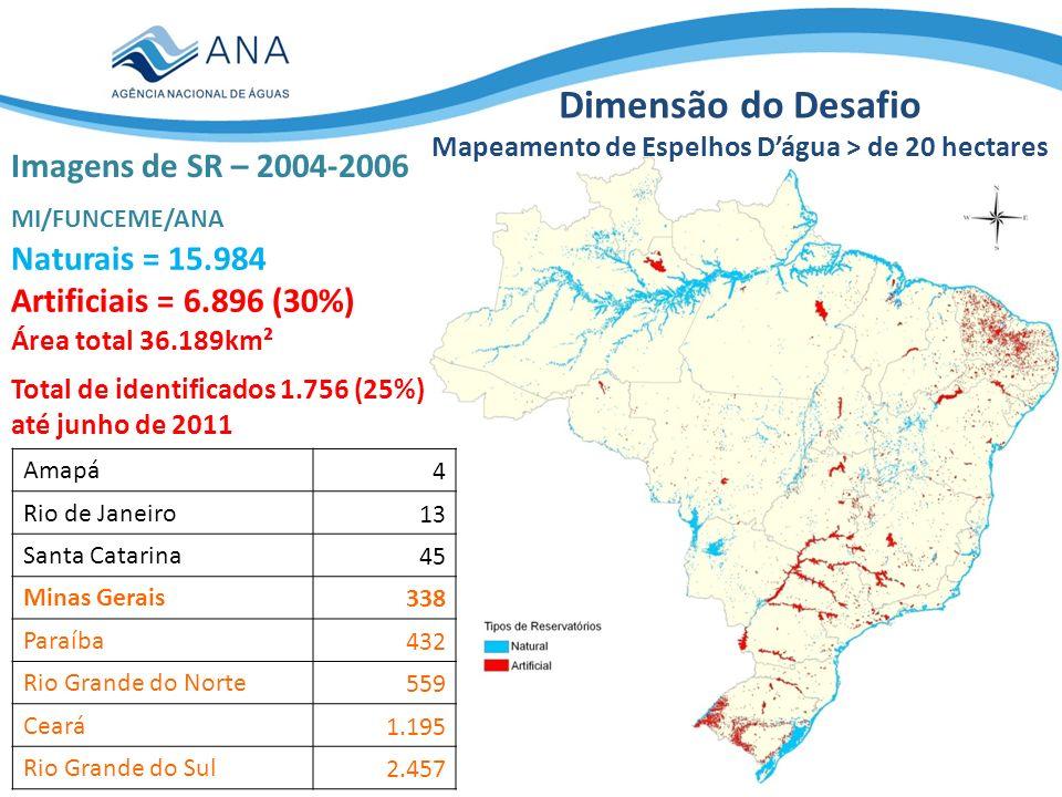 Amapá4 Rio de Janeiro13 Santa Catarina45 Minas Gerais338 Paraíba432 Rio Grande do Norte559 Ceará1.195 Rio Grande do Sul2.457 Total de identificados 1.