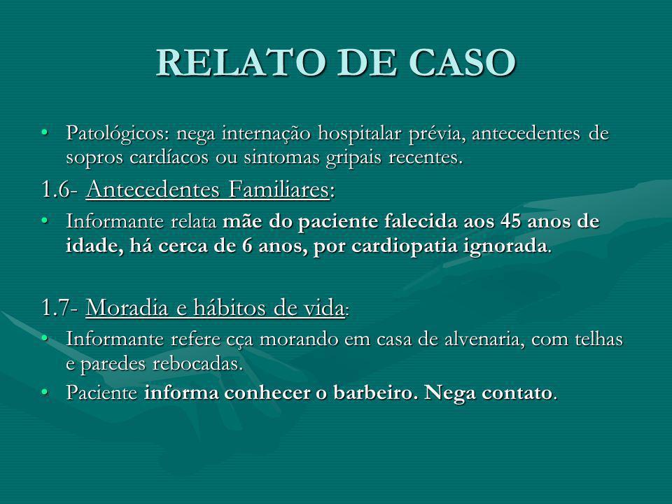 RELATO DE CASO 2- EXAME FÍSICO:2- EXAME FÍSICO: 2.