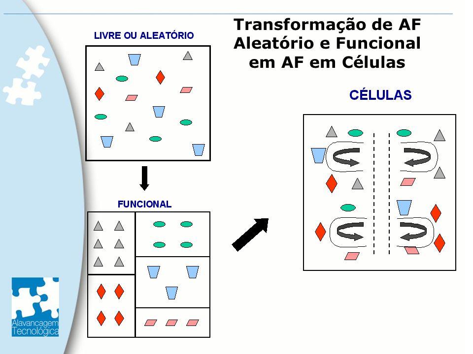 Transformação de AF Aleatório e Funcional em AF em Células