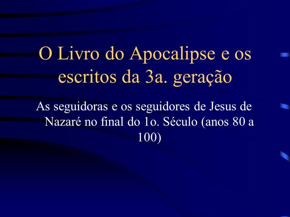 1a.Redação do Livro do Apocalipse - Compreende os capítulos 4 ao 11 - anos 54 a 68 d.