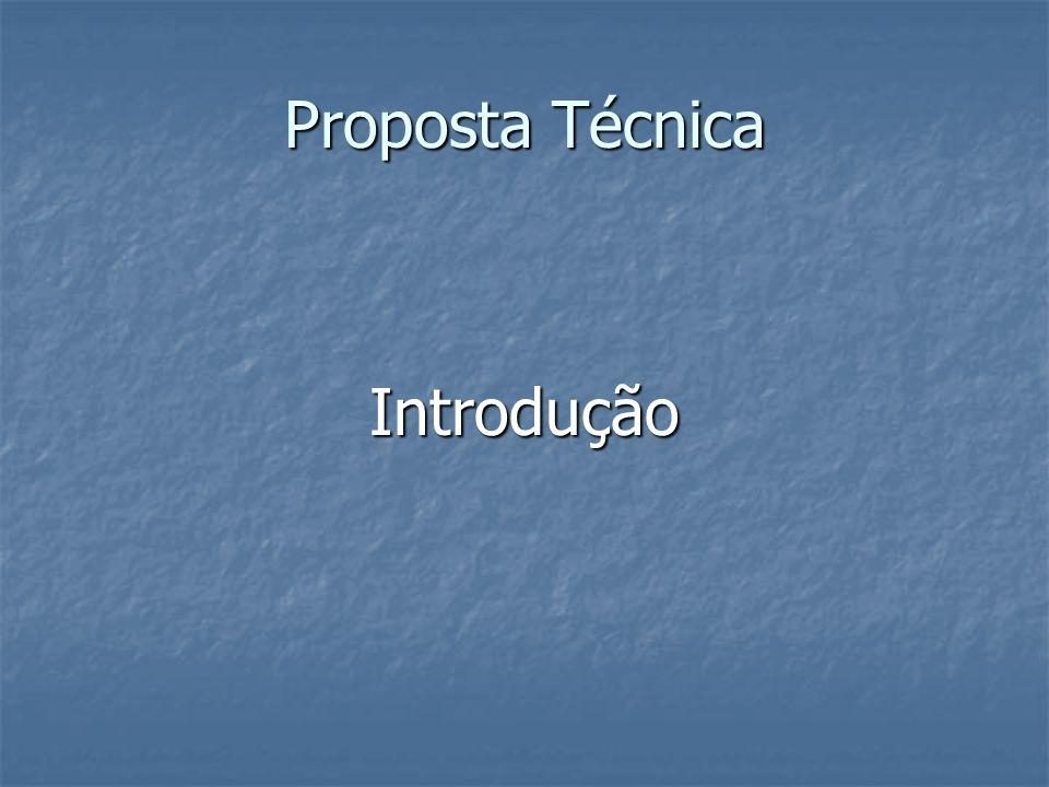 Proposta Técnica Introdução