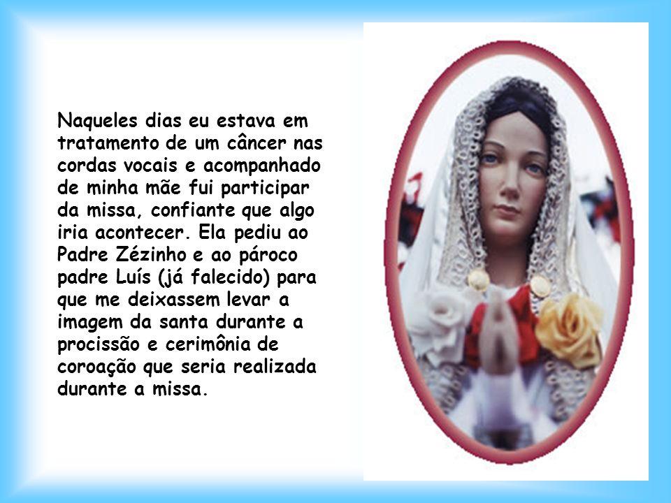 No dia 14 de outubro de 1992 o padre José Samazi Kumagawa (conhecido por padre Zezinho do Jambeiro) trouxe a imagem de Nossa Senhora da Rosa Mística p