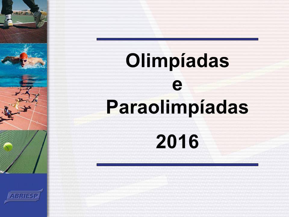 Olimpíadas e Paraolimpíadas 2016
