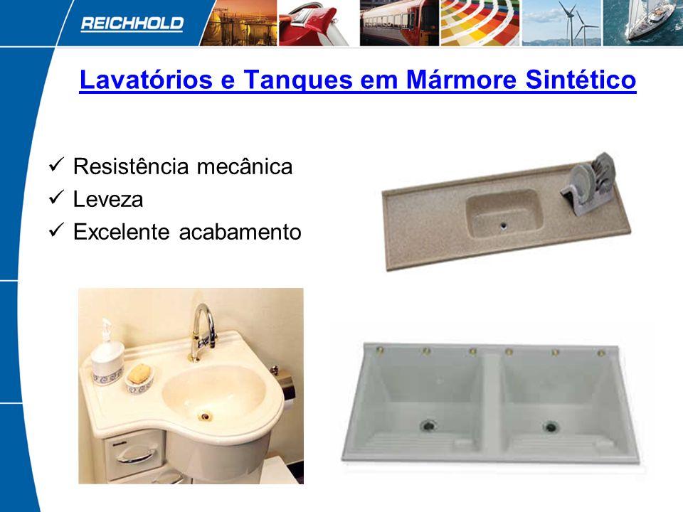 8 Assentos Sanitários Estabilidade dimensional Peças transparentes ou em cores variadas Alto brilho