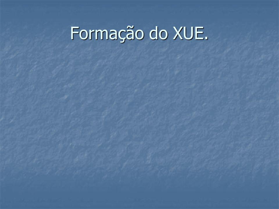 Formação do XUE.