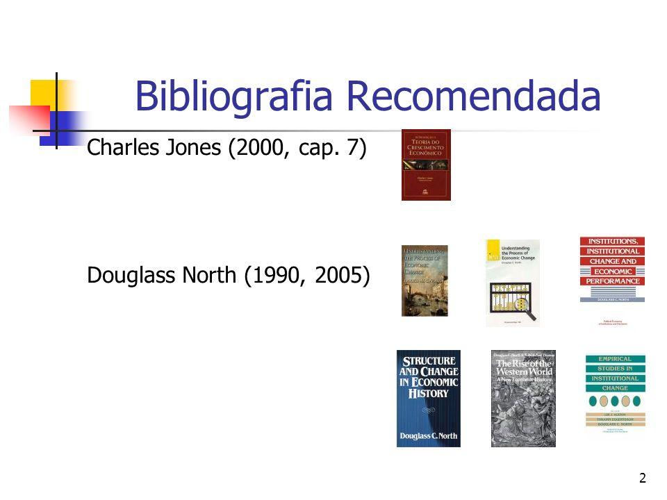 3 Bibliografia Recomendada Gordon Tullock (1967, 1980) James Buchanan (1980 a, b) Nali Jesus de Sousa (2005)
