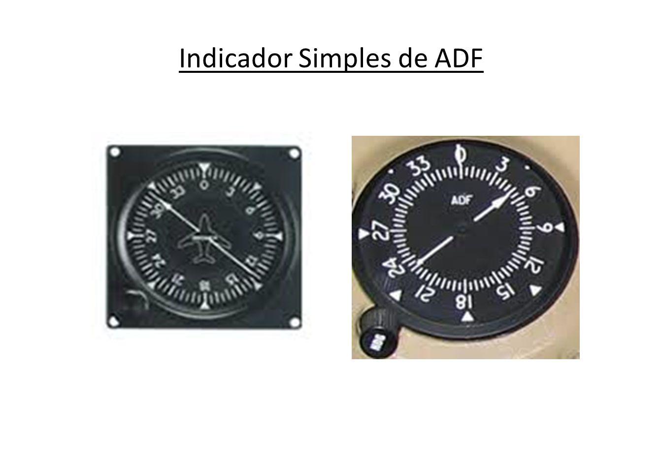 Indicador duplo de ADF ADF/ VOR