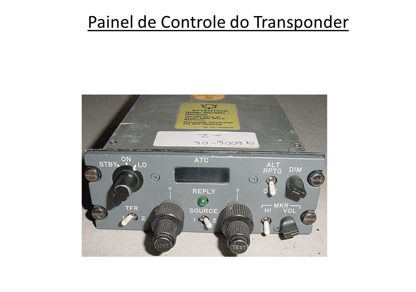Painel de Controle do Transponder
