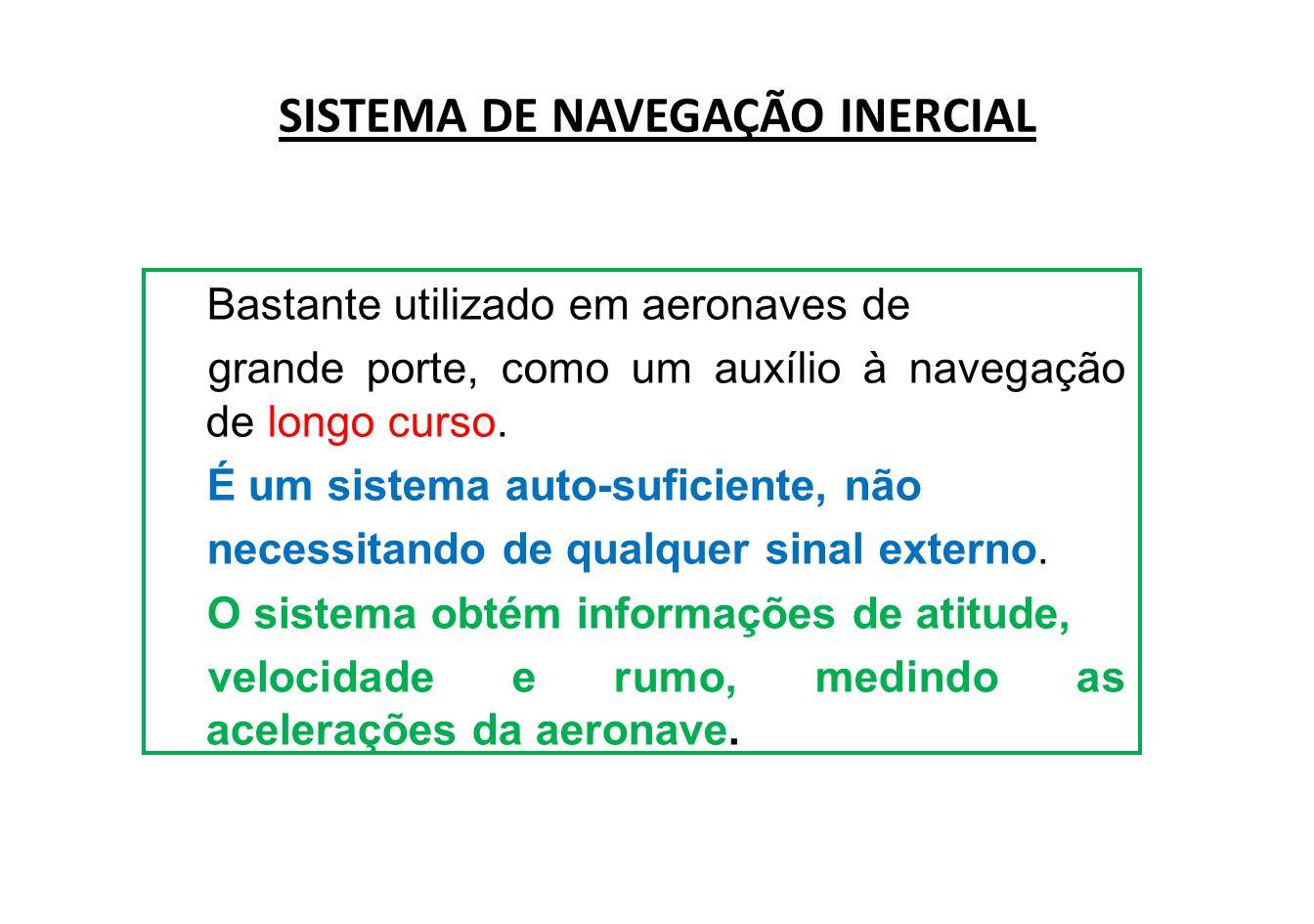 Para que o sistema funcione é necessário o uso de dois acelerômetros: um orientado para o Norte e o outro para leste.