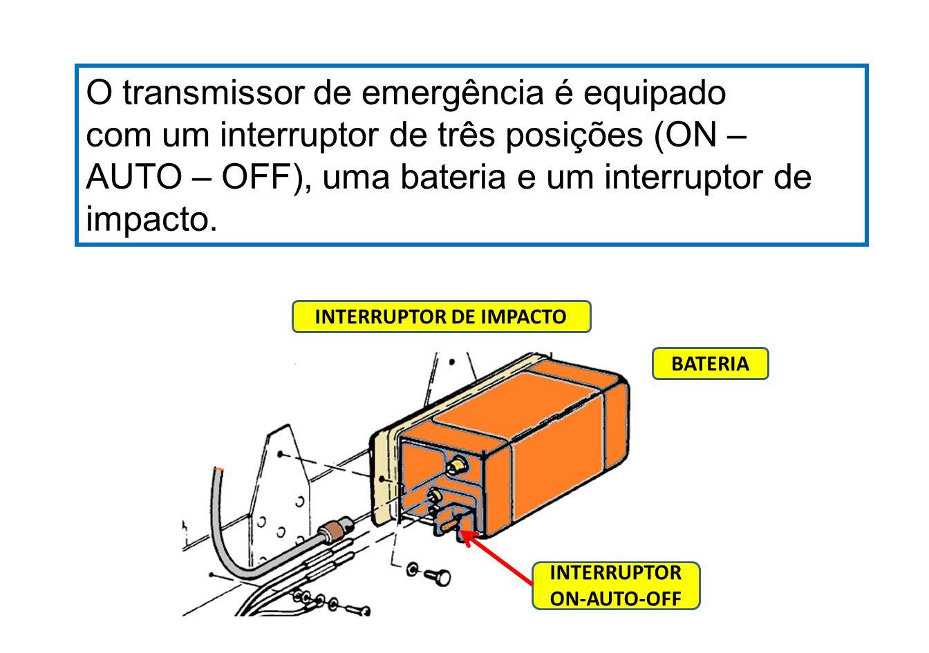 Posição ON – operação manual do equipamento.
