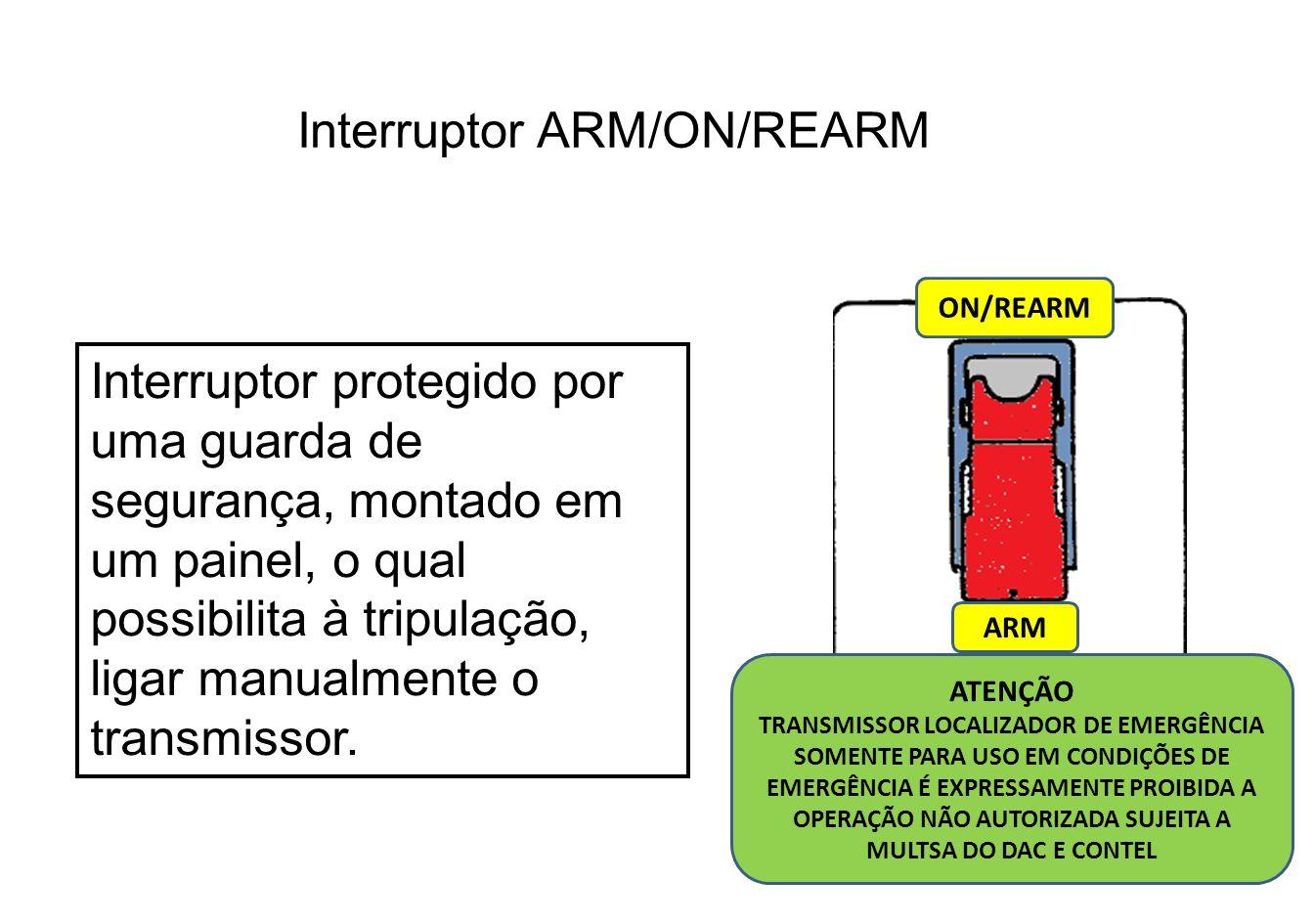 Transmissor localizador de emergência