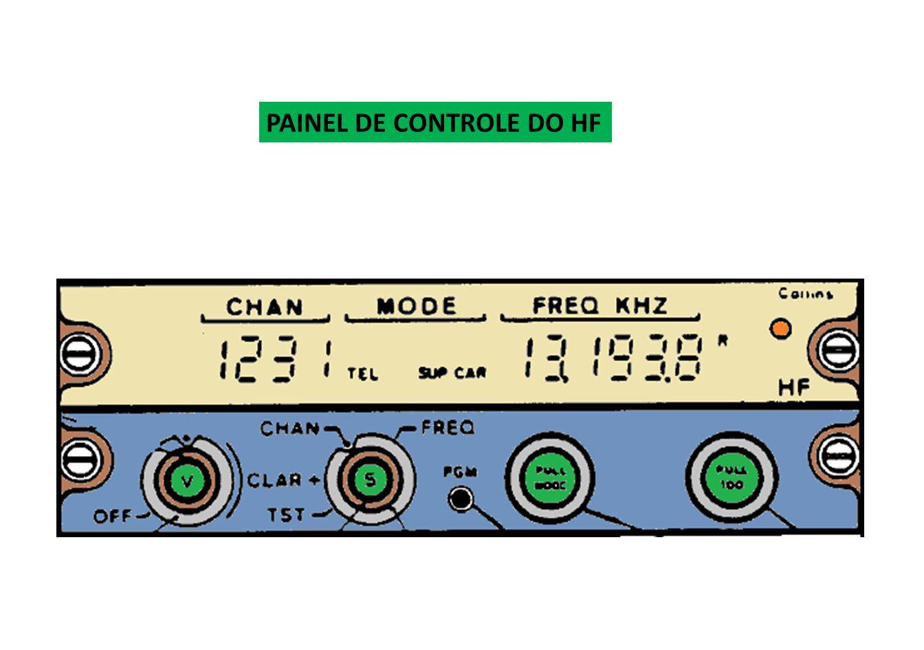 Os transmissores de HF possuem maior potência de saída que os de VHF.