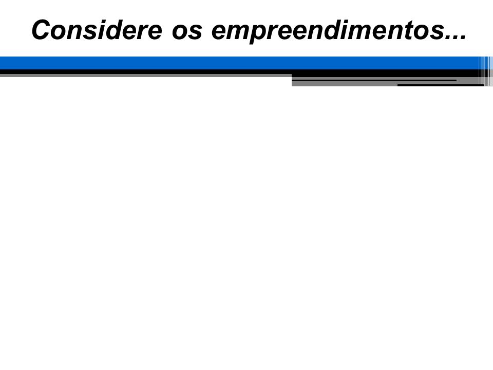 Técnicas de Gerenciamento Gráfico de Gantt Contrução no Ms Project Definir a data de início do projeto Definir os períodos úteis gerais Listas as tarefas do projeto Especificar as precedências Especificar os tempos de cada elemento de trabalho O project calculará os tempos de término de cada etapa (tempos / precedências / períodos úteis)