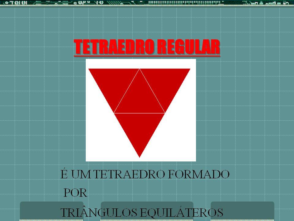 TETRAEDRO REGULAR