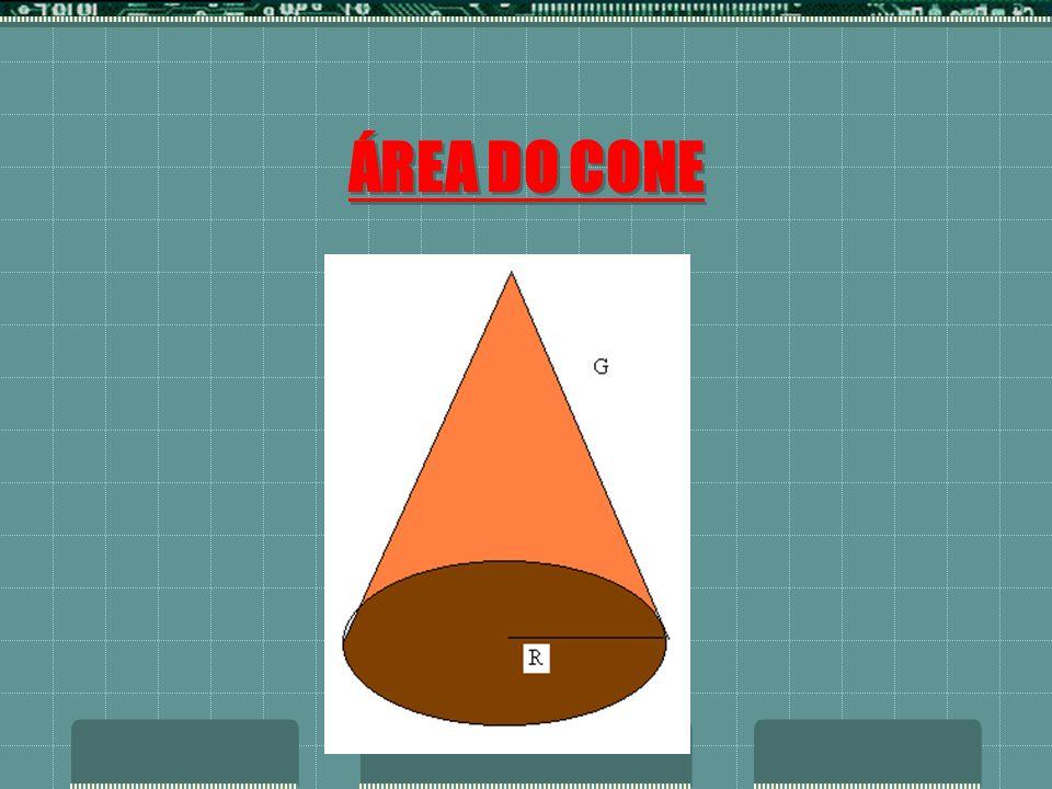 ÁREA DO CONE
