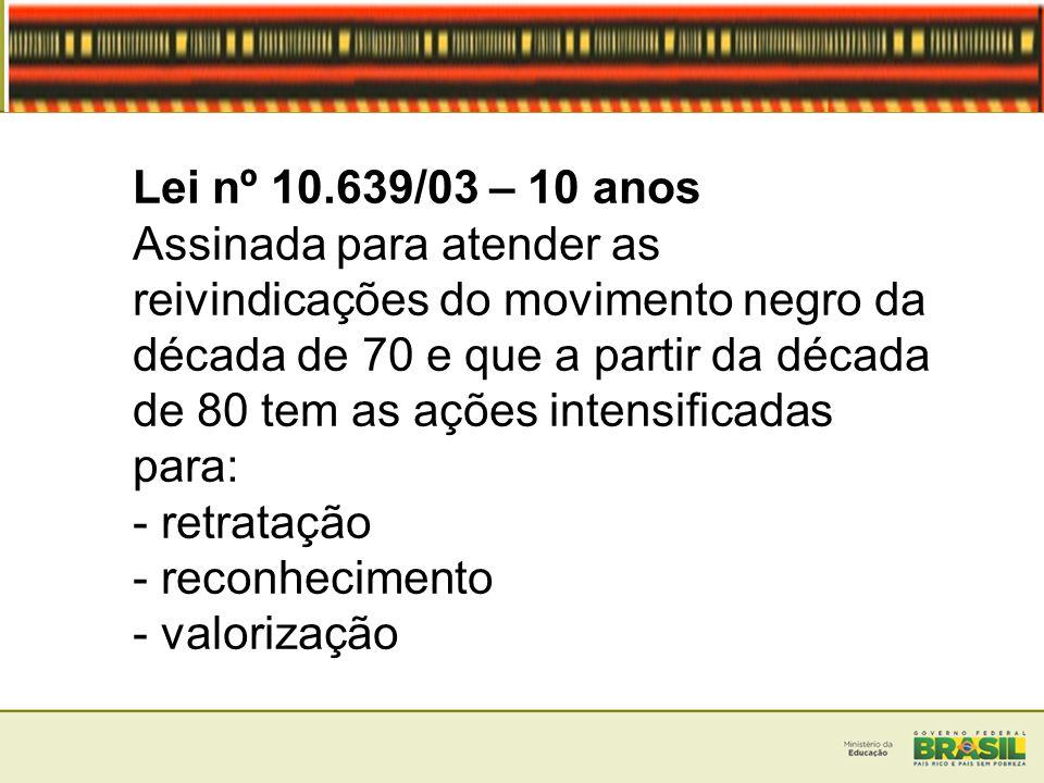 As Diretrizes Curriculares Nacionais para a Educação das Relações Étnico-Raciais e para o Ensino de História e Cultura Afro- brasileira e Africana apontam para: Práticas pedagógicas permanentes e cotidianas, não se limitando as datas comemorativas como: 13 de maio e 20 de novembro.