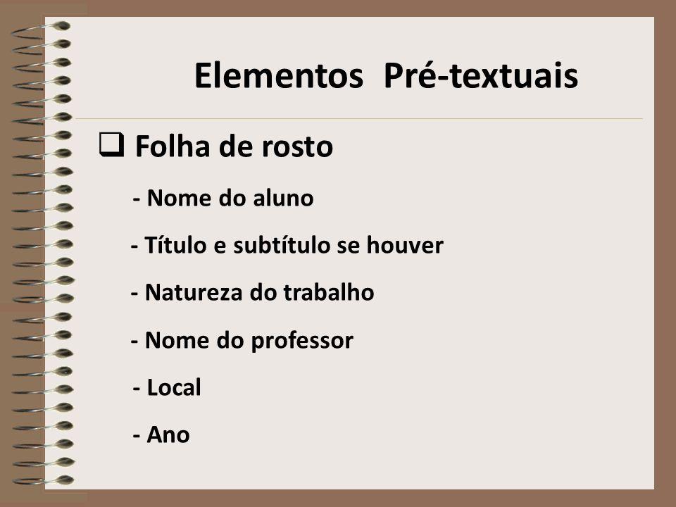 Folha de rosto EDANIELLY GAMA AQUECIMENTO GLOBAL: algumas considerações São Luís 2009 Trabalho apresentado à disciplina Ciências para obtenção parcial de nota.