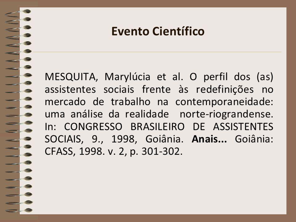 CITAÇÕES NBR 10520:2002