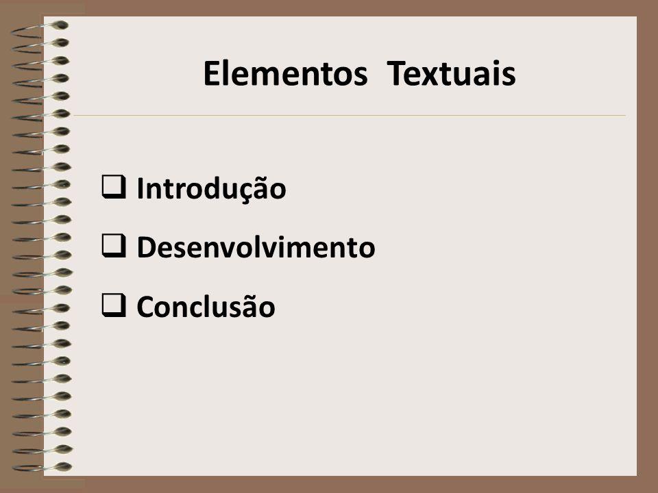 Elementos Pós-textuais Referências Apêndice Anexo