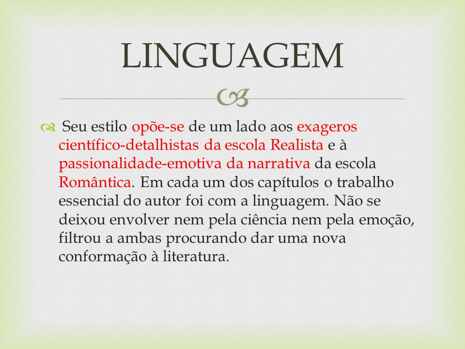 No início, a linguagem fragmentada lembra muito a maneira de falar das crianças.