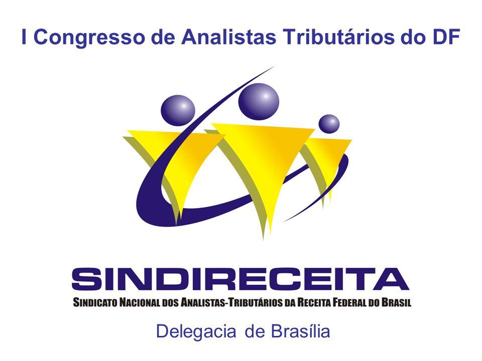 I Congresso de Analistas Tributários do DF Delegacia de Brasília