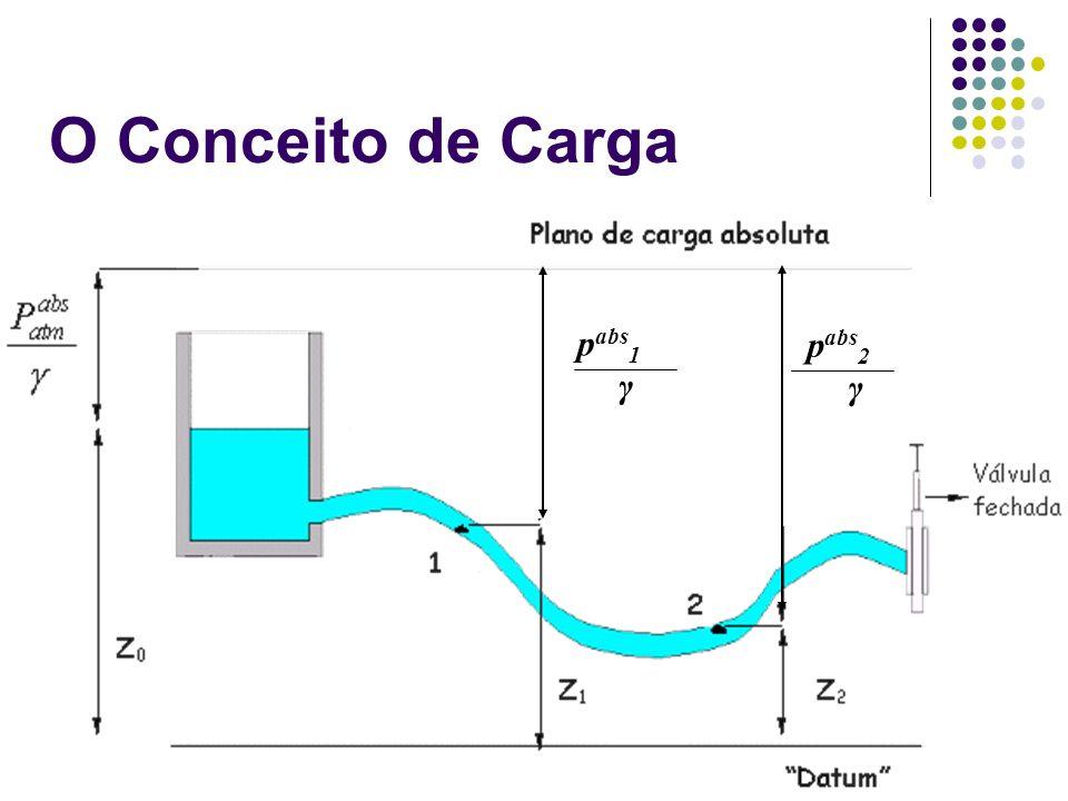 p abs 1 γ p abs 2 γ O Conceito de Carga