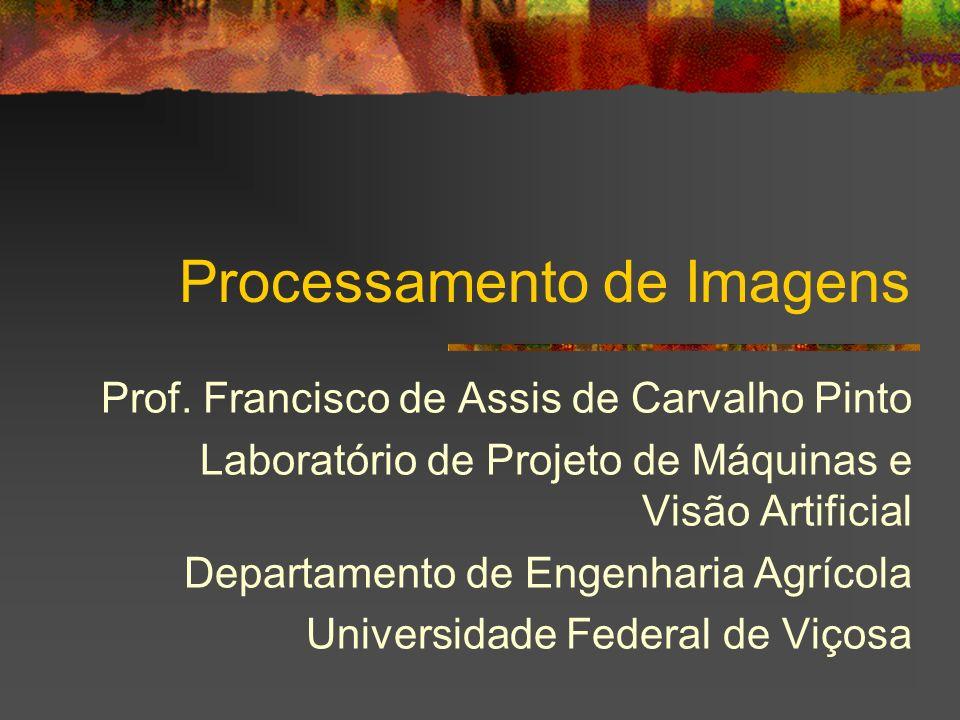Processamento de Imagens Prof. Francisco de Assis de Carvalho Pinto Laboratório de Projeto de Máquinas e Visão Artificial Departamento de Engenharia A