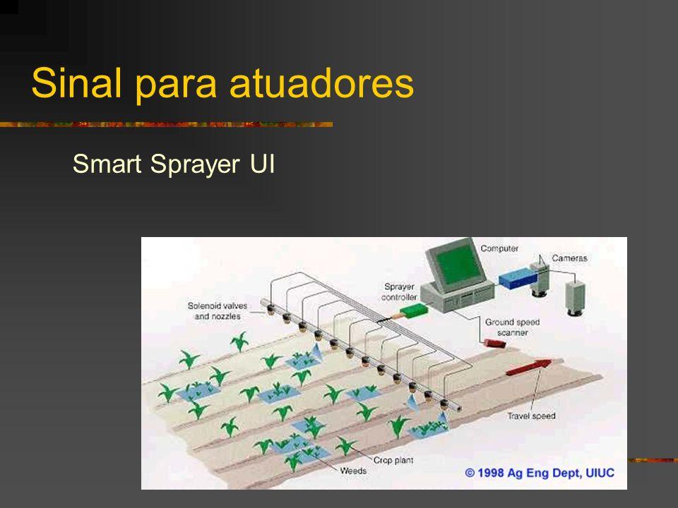 Sinal para atuadores Smart Sprayer UI