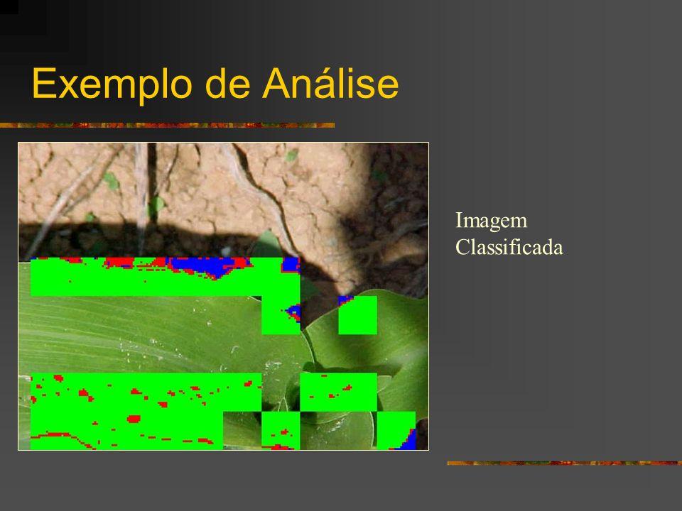 Exemplo de Análise Imagem Classificada