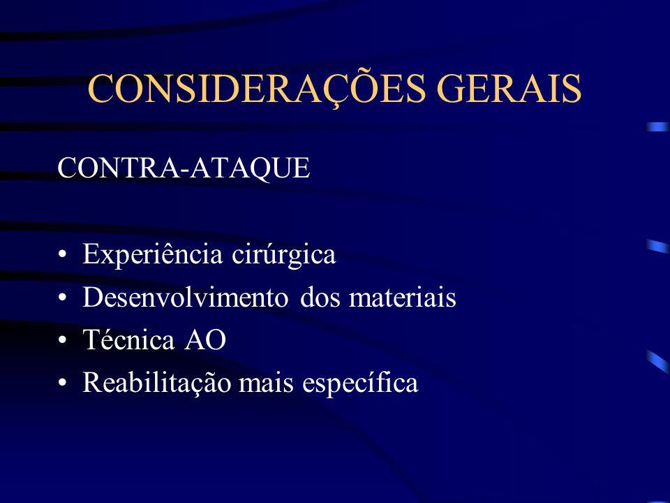 TÉCNICA CIRÚRGICA A redução deve respeitar os três planos : frontal, sagital e horizontal.