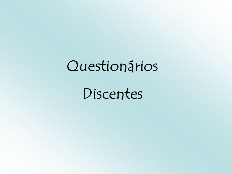 Questionários Discentes