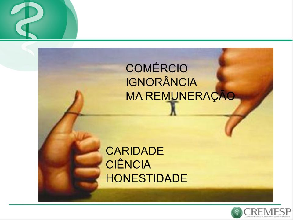 CARIDADE CIÊNCIA HONESTIDADE COMÉRCIO IGNORÂNCIA MA REMUNERAÇÃO