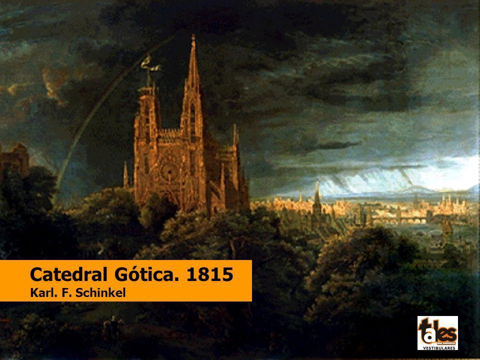 Catedral Gótica. 1815 Karl. F. Schinkel