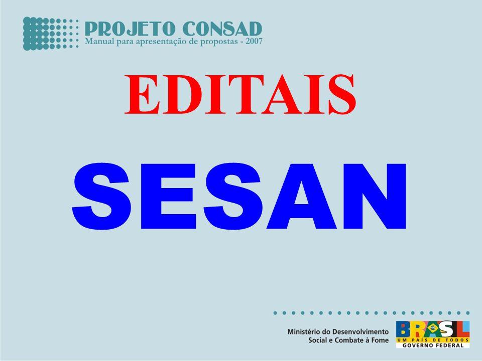 EDITAIS SESAN
