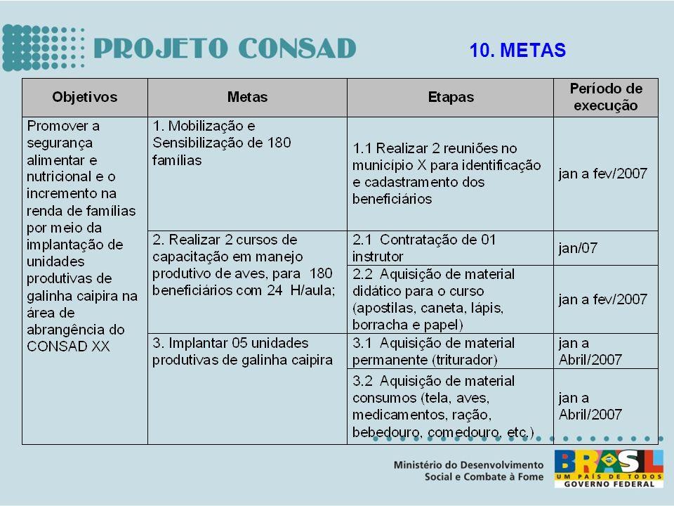 10. METAS
